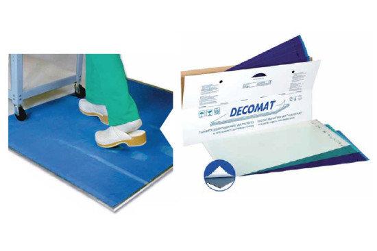 Decomat - Multilayer decontaminating mat