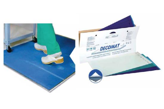 Decomat - Multilayer decontaminating mat
